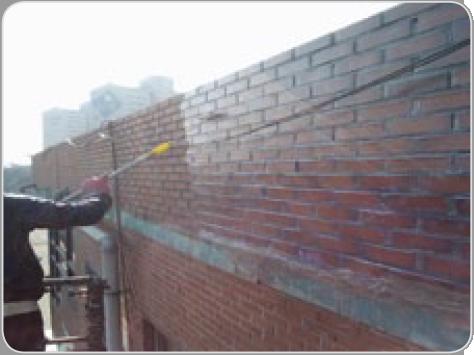적벽돌 외벽